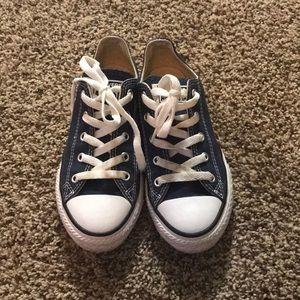 👟 Size 1 blue converse 👟